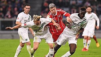 Hannover 96 – Bayern München: Schonen für die Königlichen