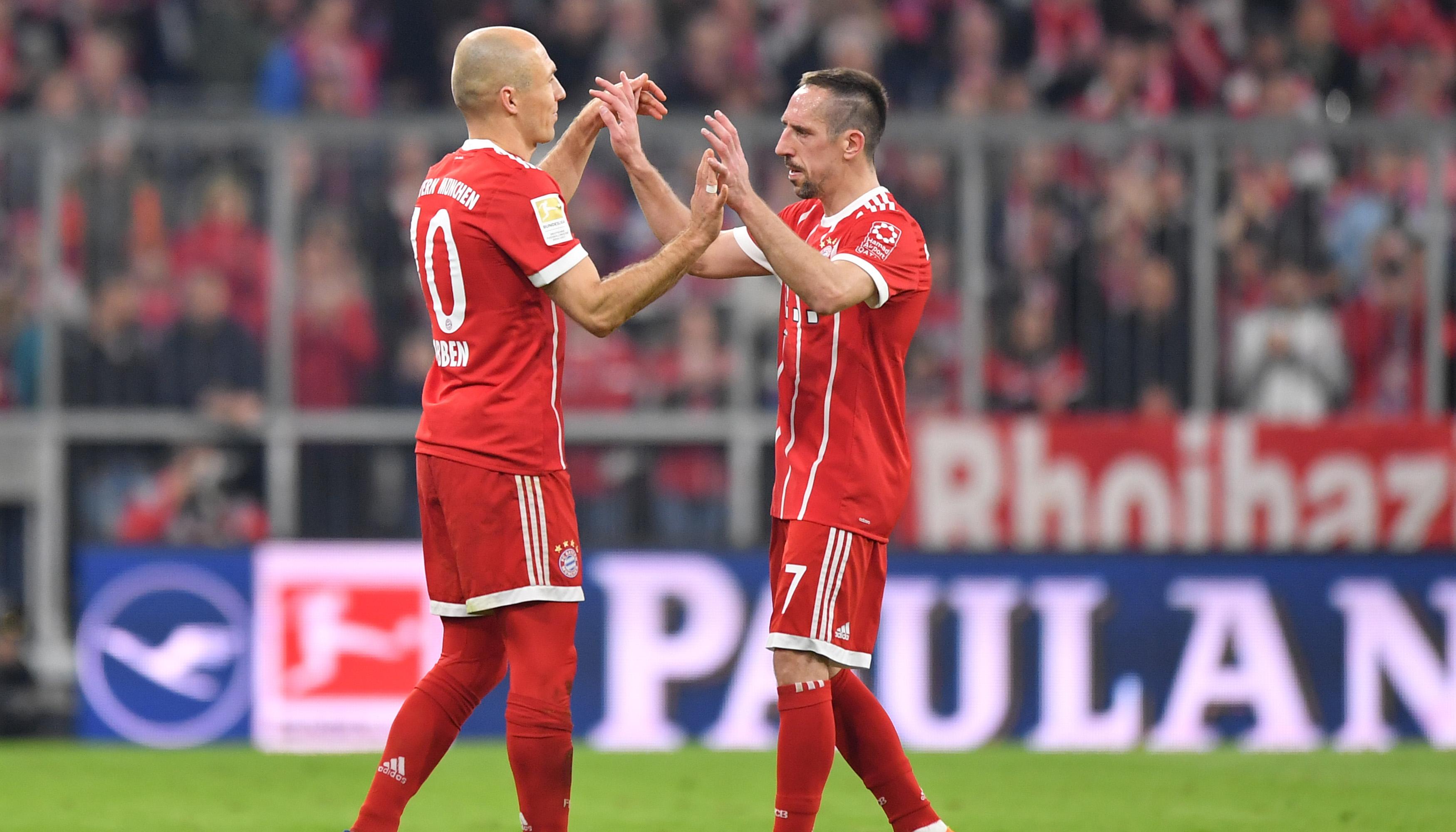 Robbery: Vorfreude auf die 10. gemeinsame Saison beim FC Bayern
