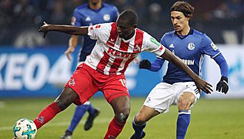 1. FC Köln – FC Schalke im DFB-Pokal: Statistik macht Effzeh zum Favoriten