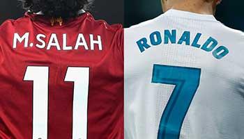 CR7 vs. Salah: Wer schießt sein Team zum CL-Sieg?