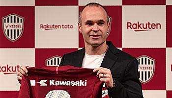 Iniesta-Vorgänger: Diese Stars zog es ebenfalls in die J-League