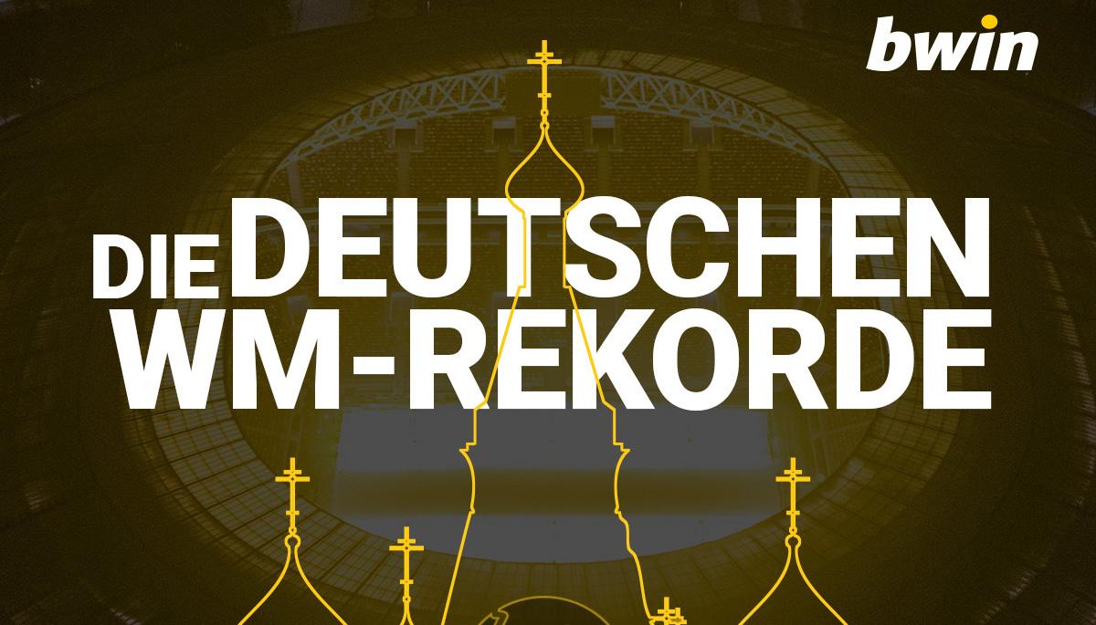 Das sind die deutschen WM-Rekorde