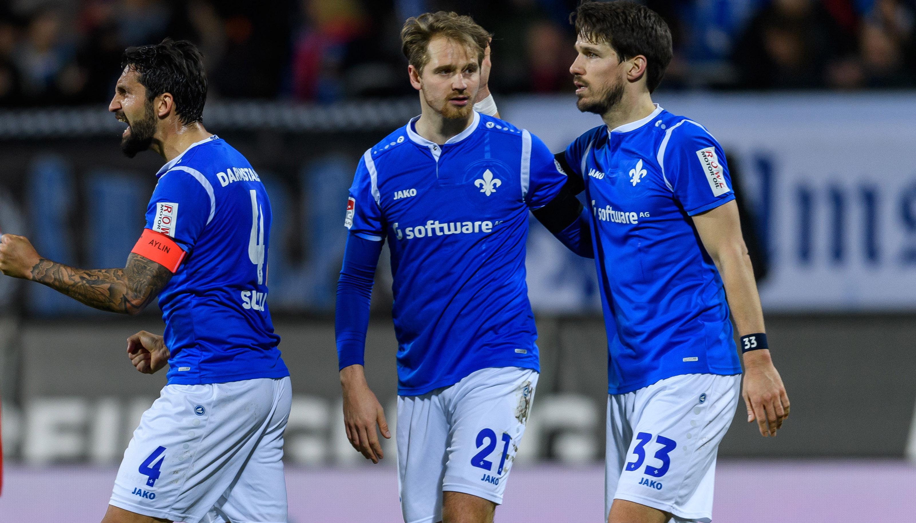 SV Darmstadt – Erzgebirge Aue: Breite Brust gegen weiche Knie