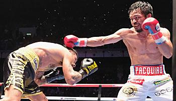 Manny Pacquiao und die ältesten Weltmeister im Boxen