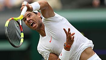 Wimbledon 2018: Federer und Nadal auf dem Weg ins Achtelfinale