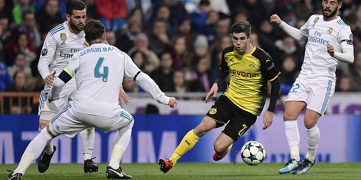 Kickt Pulisic künftig nich gegen sondern für Real Madrid?