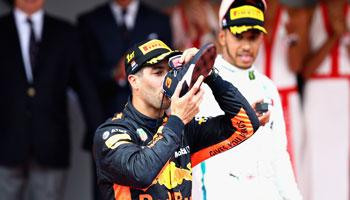 """Daniel Ricciardo: Auf einen """"Shoey"""" mit Renault"""