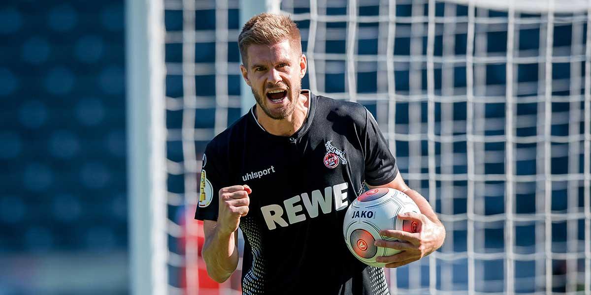 Simon Terodde, Jubel, 1. FC Köln