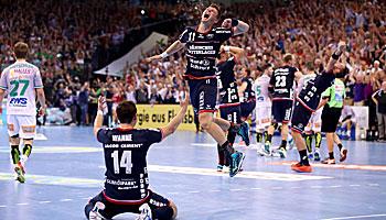 Handball-Bundesliga: Fesselnder Dreikampf um die Krone