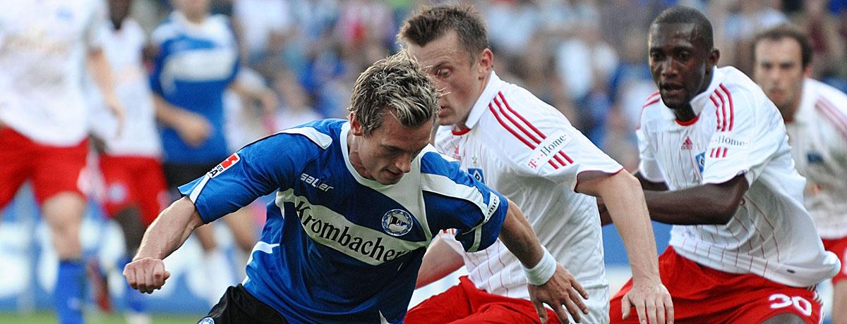 HSV - Arminia Bielefeld, HSV, DSC