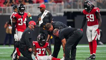 NFL: Diese Teams sind vom Verletzungspech gefolgt!