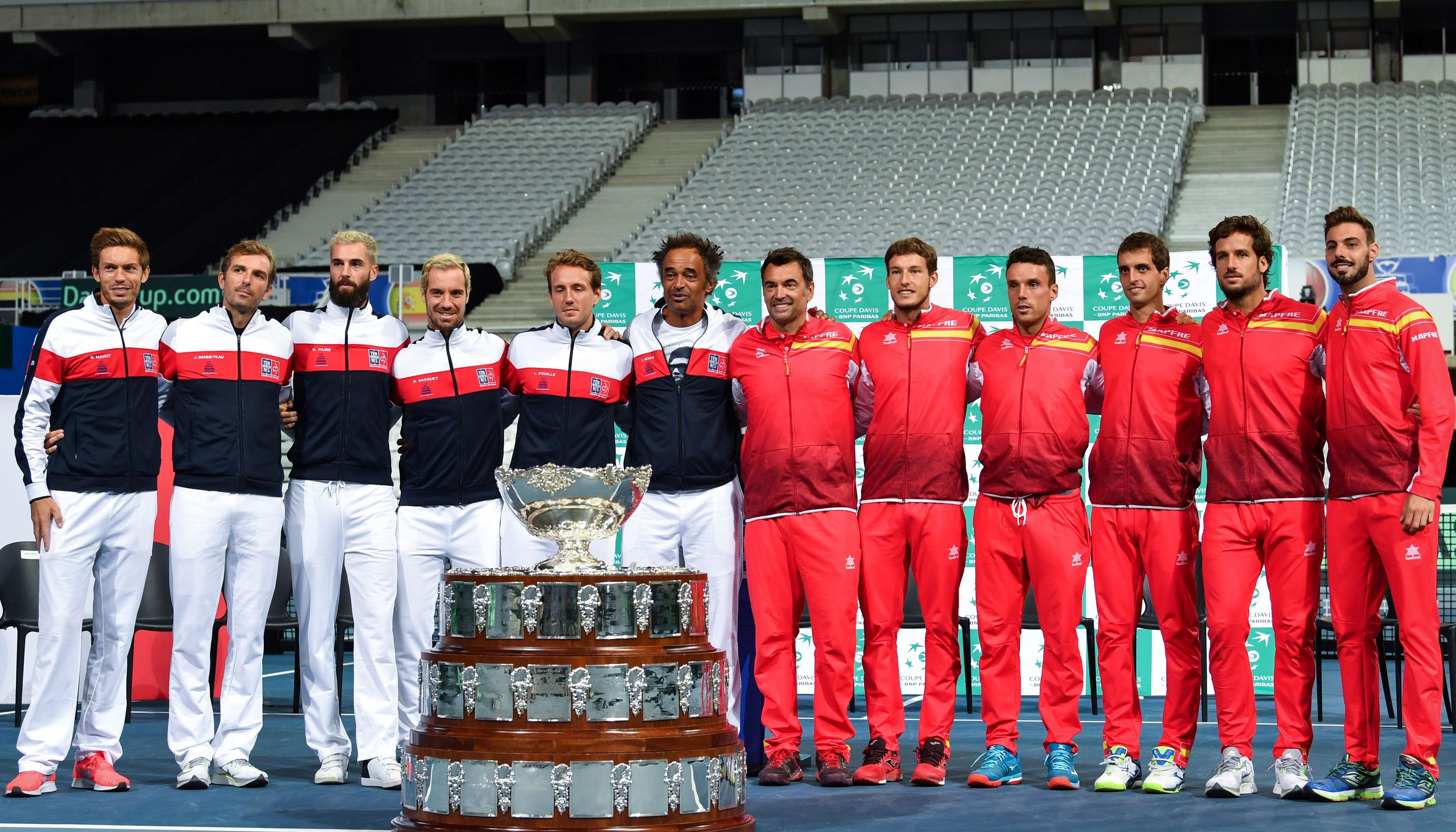 Davis Cup: Frankreich und Kroatien wollen den Heimvorteil ausspielen
