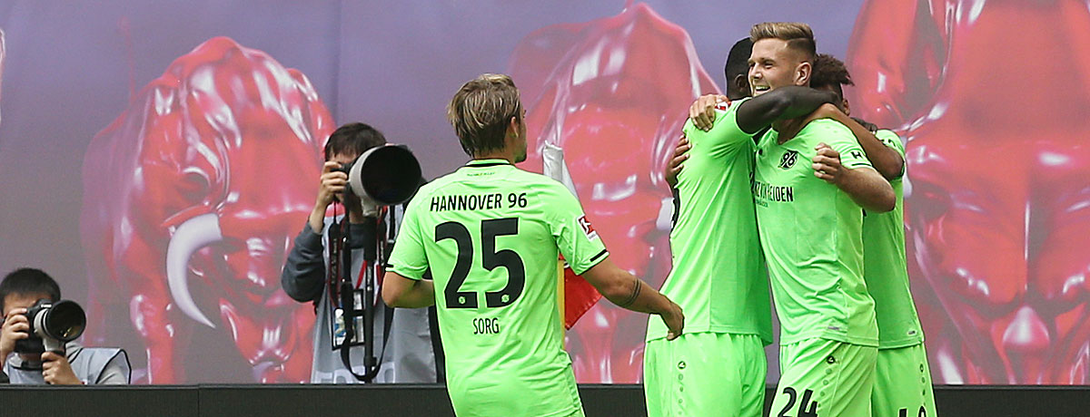 Füllkrug trifft für Hannover gegen Leipzig.