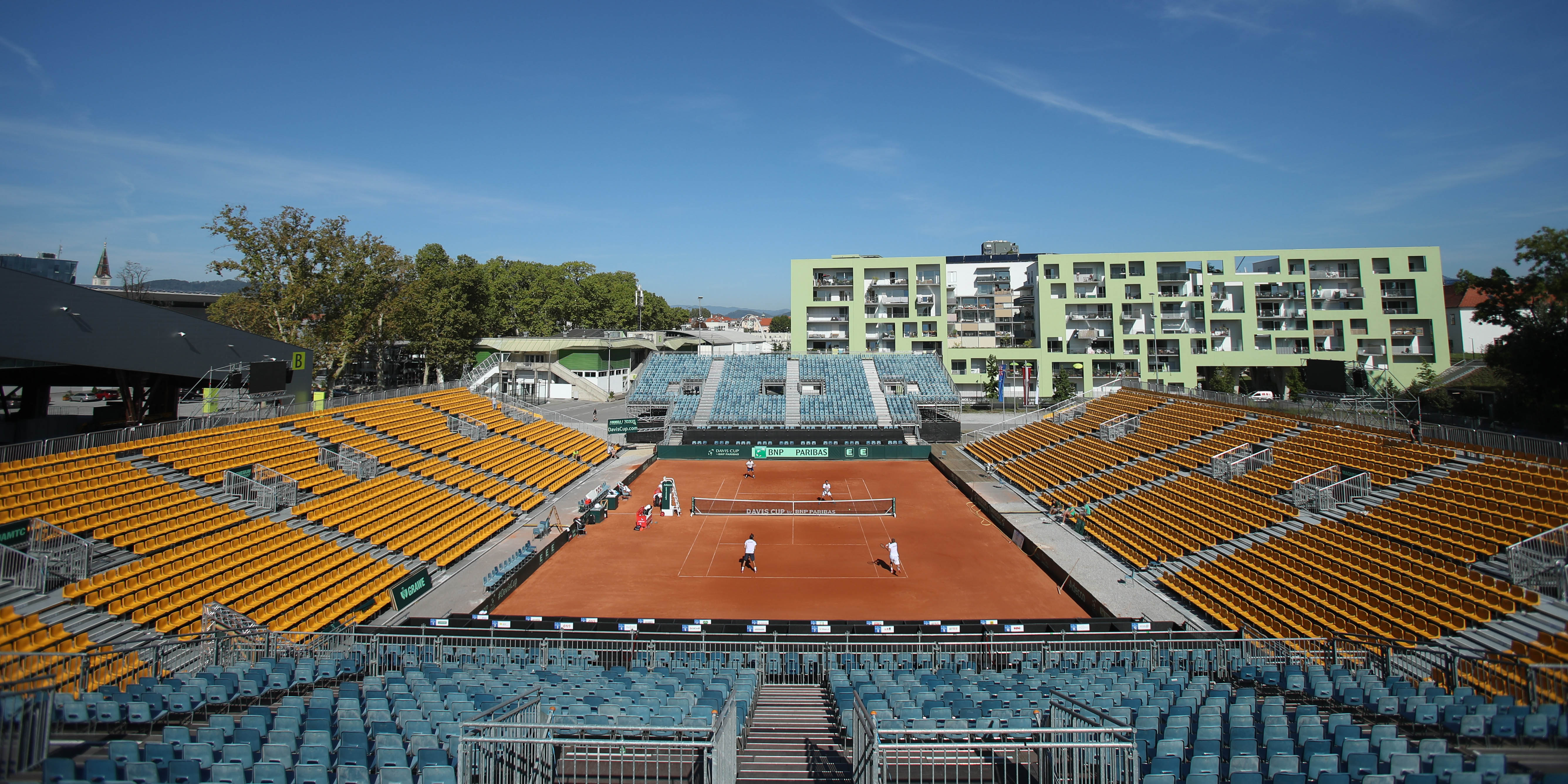 Tennisstadion, Graz, Davis Cup