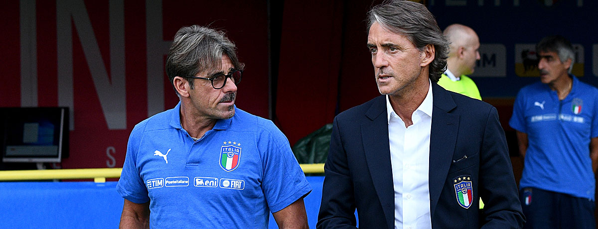 Roberto Mancini, Trainer Italien, Squadra Azzurra