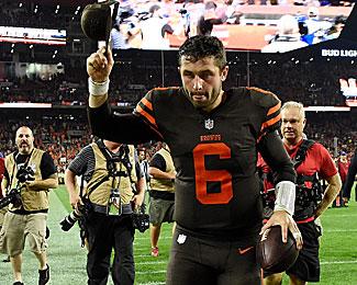 Quarterback der Cleveland Browns: Baker Mayfield