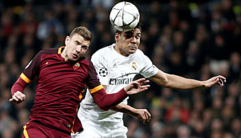 Real Madrid – AS Rom: Gäste mit guter Bernabéu-Bilanz