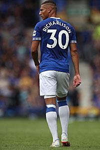 Richarlison im Trikot des FC Everton.