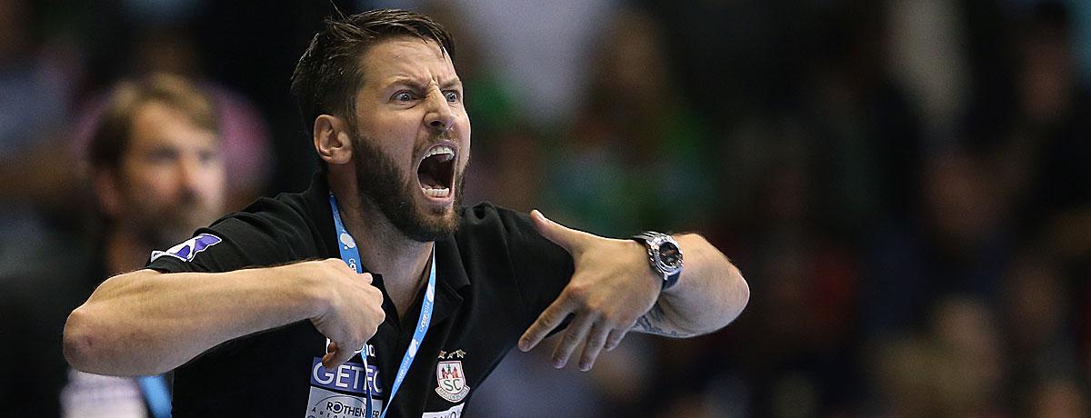 Bennet Wiegert ist Trainer des SC Magdeburg.