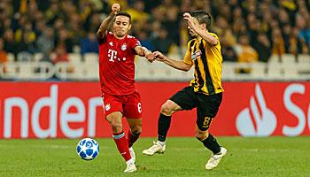 Bayern München – AEK Athen: Bayerische weiße Weste gegen Griechen