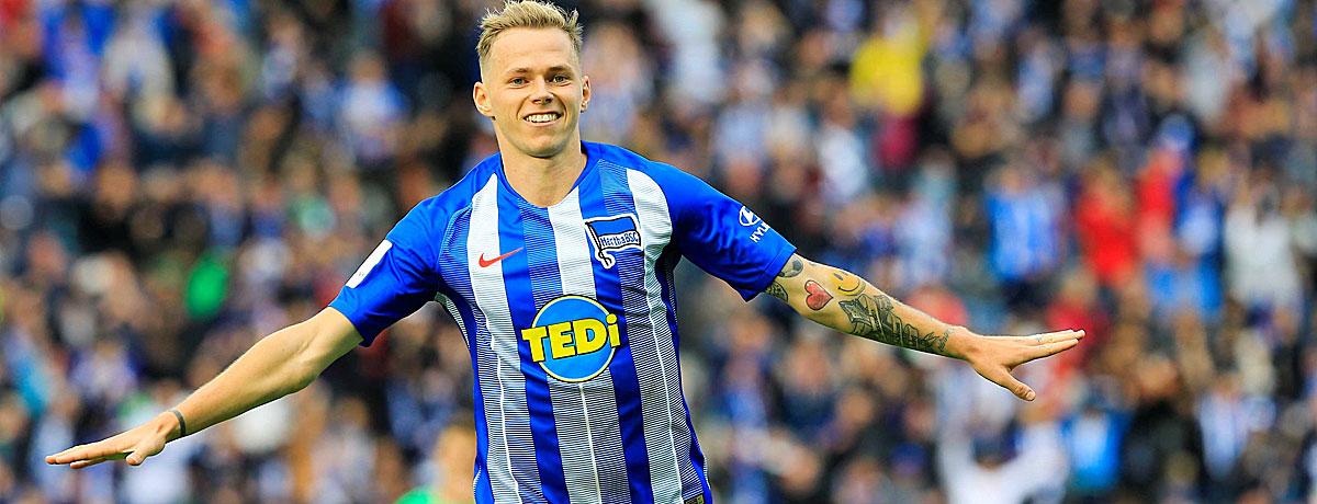 Ondrej Duda mutiert bei der Hertha zum Torjäger.