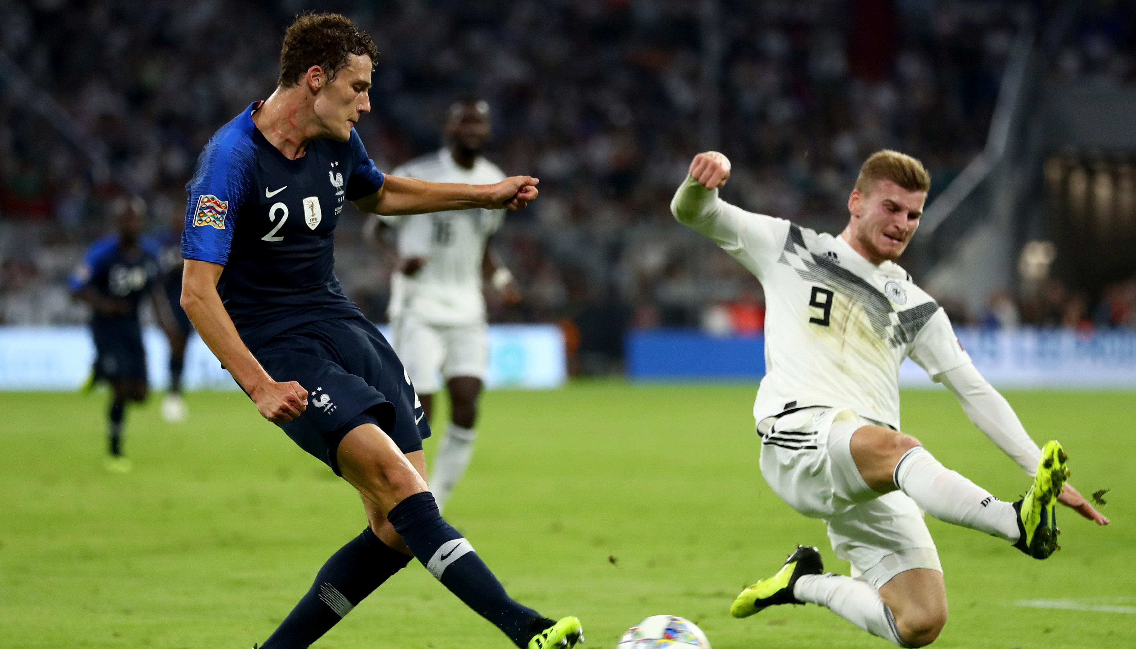 Frankreich – Deutschland: DFB-Elf in der Außenseiterrolle