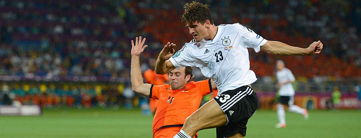 Niederlande - Deutschland bei der EM 2012