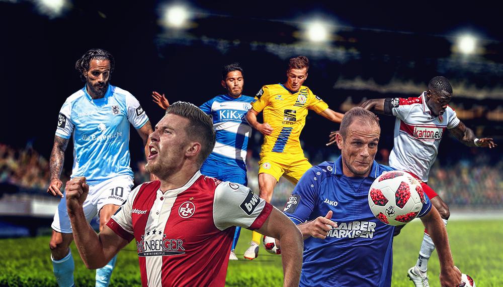 3. Liga: Ein Derby, Traditions- und Kellerduelle im Fokus