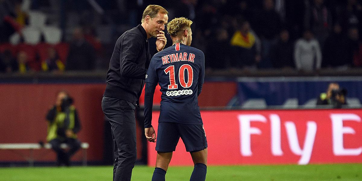 Tuchel und Neymar