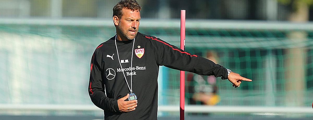 Markus Weinzierlt ist neuer Trainer beim VfB Stuttgart