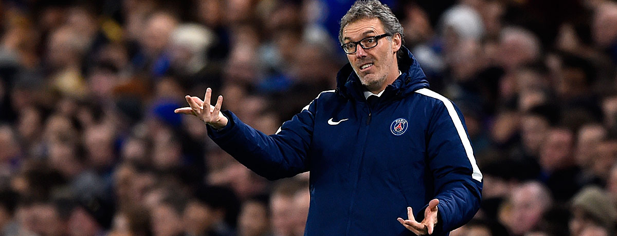 Laurent Blanc bei PSG