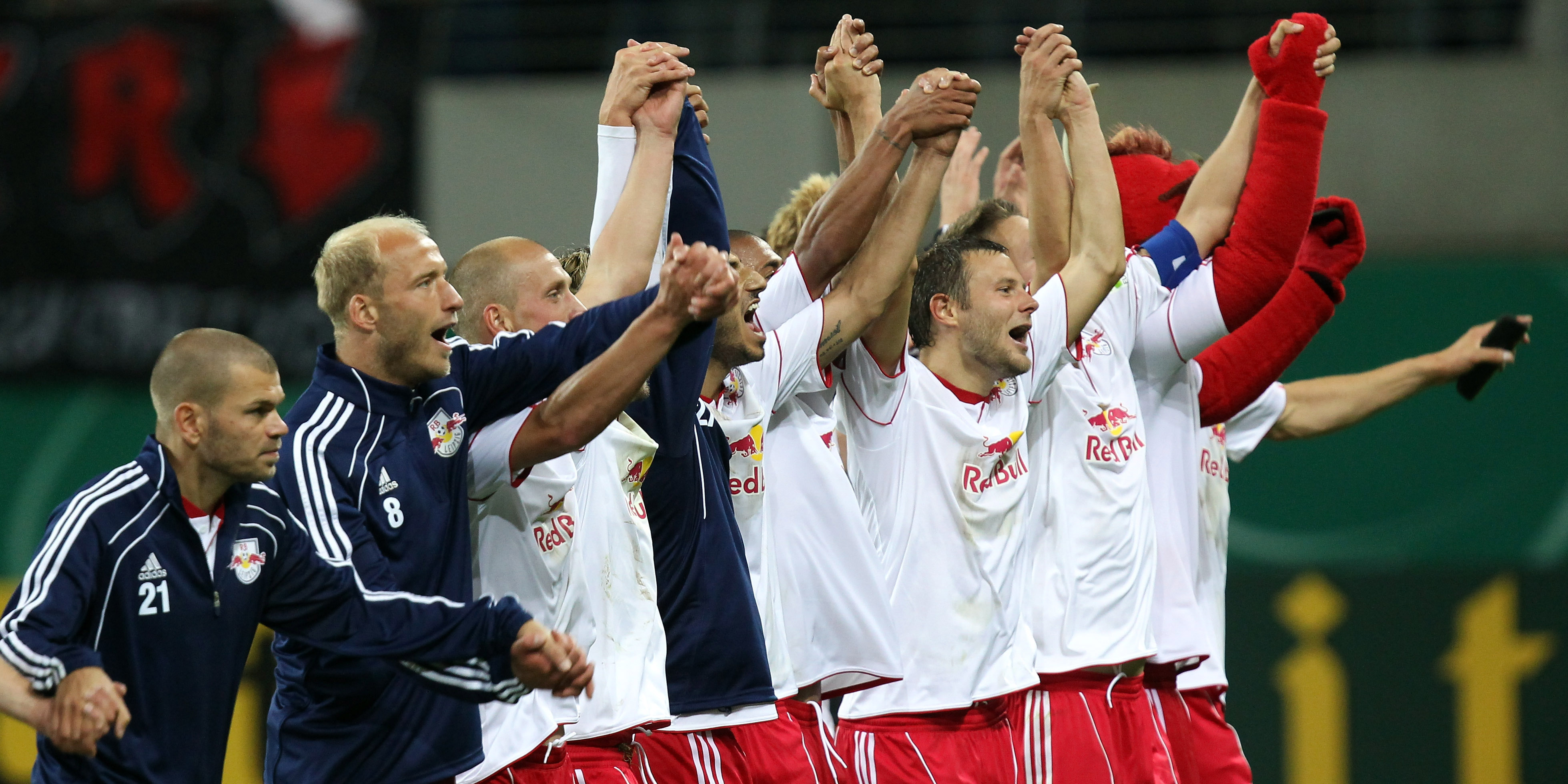 RB Leipzig Jubel 2011