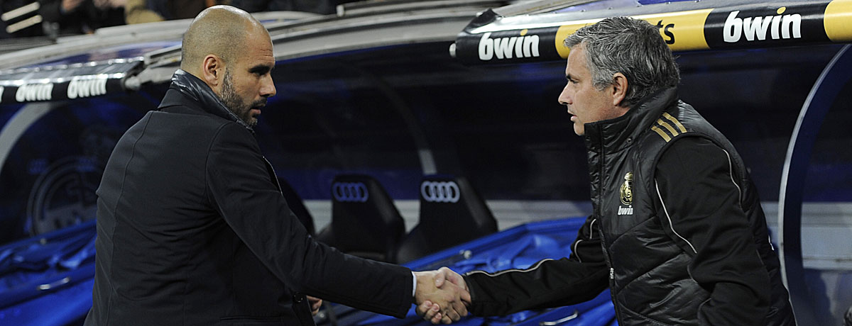 Guardiola gegen Mourinho