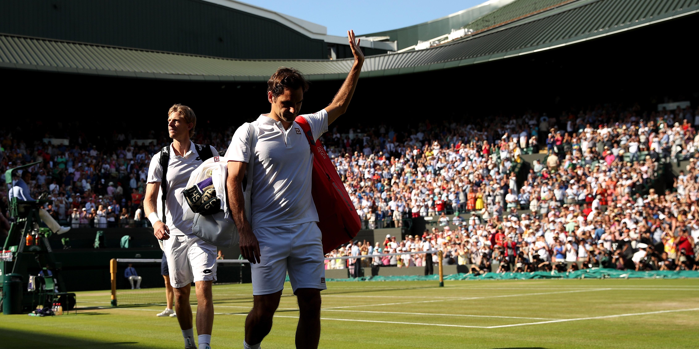 Anderson, Federer, Wimbledon