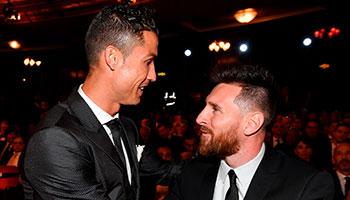 Jahrestorschützen 2018: Kopf-an-Kopf-Rennen zwischen Ronaldo & Messi