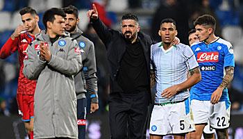 SSC Neapel – Inter Mailand: Erster Heimsieg für Gattuso?