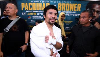 Pacquiao: Broner vor der Brust – Mayweather-Rematch im Hinterkopf
