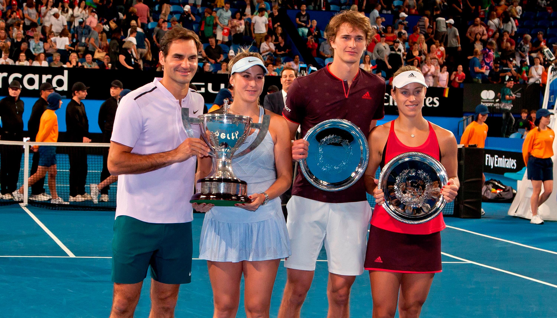 Hopman Cup Finale: Zverev und Kerber wollen die Revanche im Traumfinale