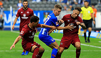 1. FC Nürnberg – Hertha BSC: Schlusslicht setzt auf Heimvorteil