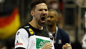 Handball-WM: Daumen drücken für BRA und FRA