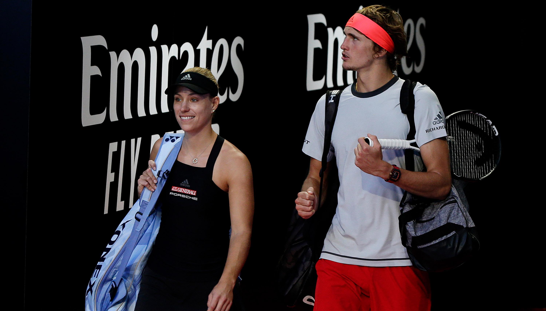 Australian Open: Mit Kerber und Zverev in die 2. Woche