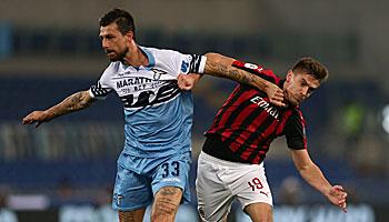 AC Mailand – Lazio Rom: Beim AC ist für Lazio kaum was zu holen