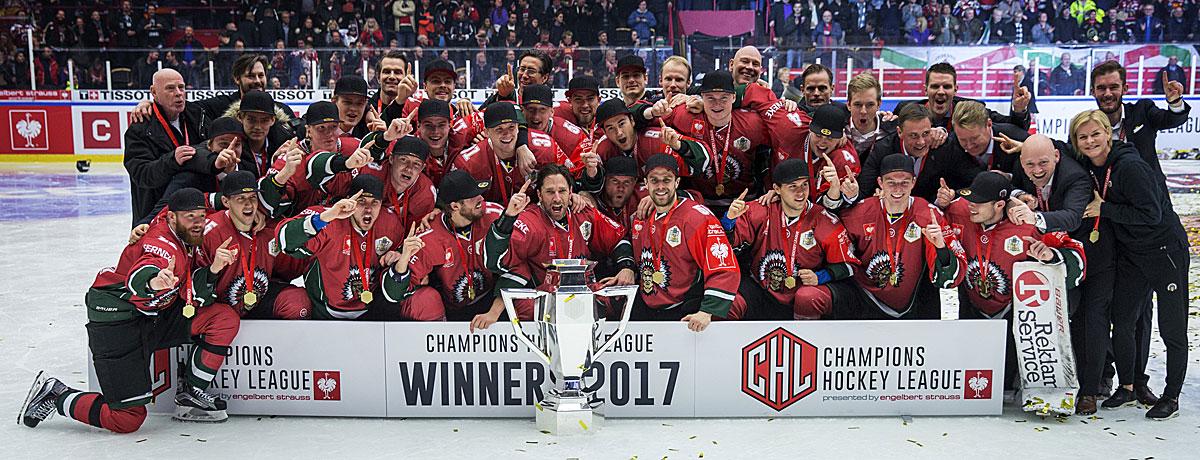 Frölunda News: CHL-Finale 2019: Red Bull München Will Geschichte