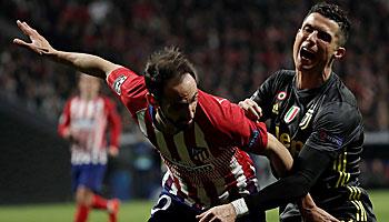 Juventus Turin – Atletico Madrid: Herkulesaufgabe für Ronaldo und Co.
