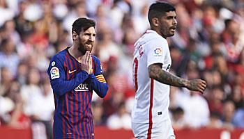 FC Barcelona – FC Sevilla: Trifft Messi gegen seinen Lieblingsgegner?
