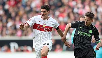 VfB Stuttgart – Hannover 96: Absteiger-Duell zum Auftakt