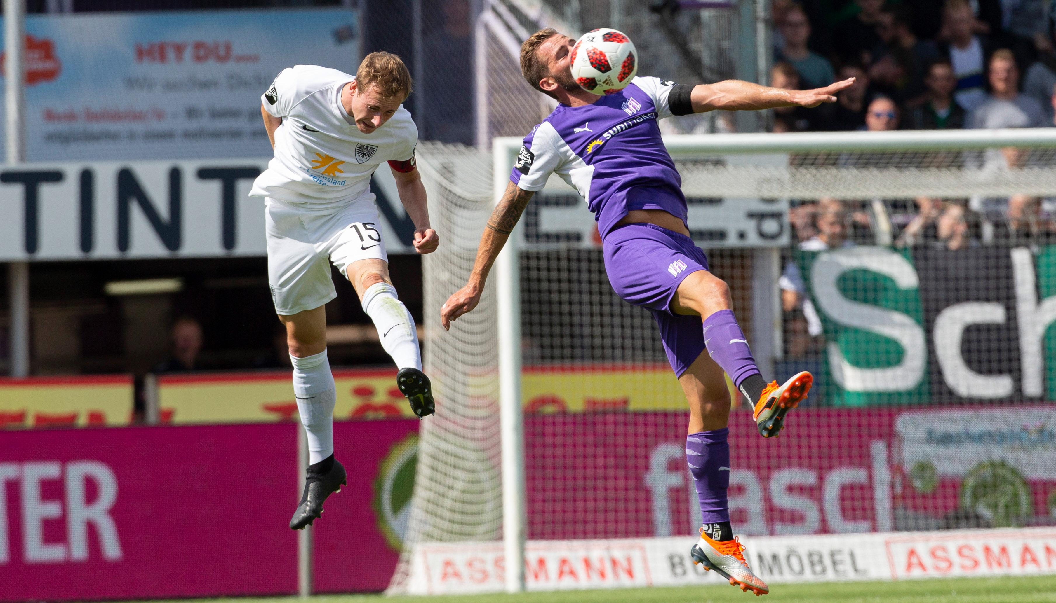 Preußen Münster – VfL Osnabrück: Kein Derby gibt es länger in Liga 3