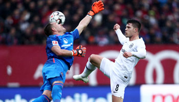 Eintracht Frankfurt – 1. FC Nürnberg: Dankbare Aufgabe in der englischen Woche