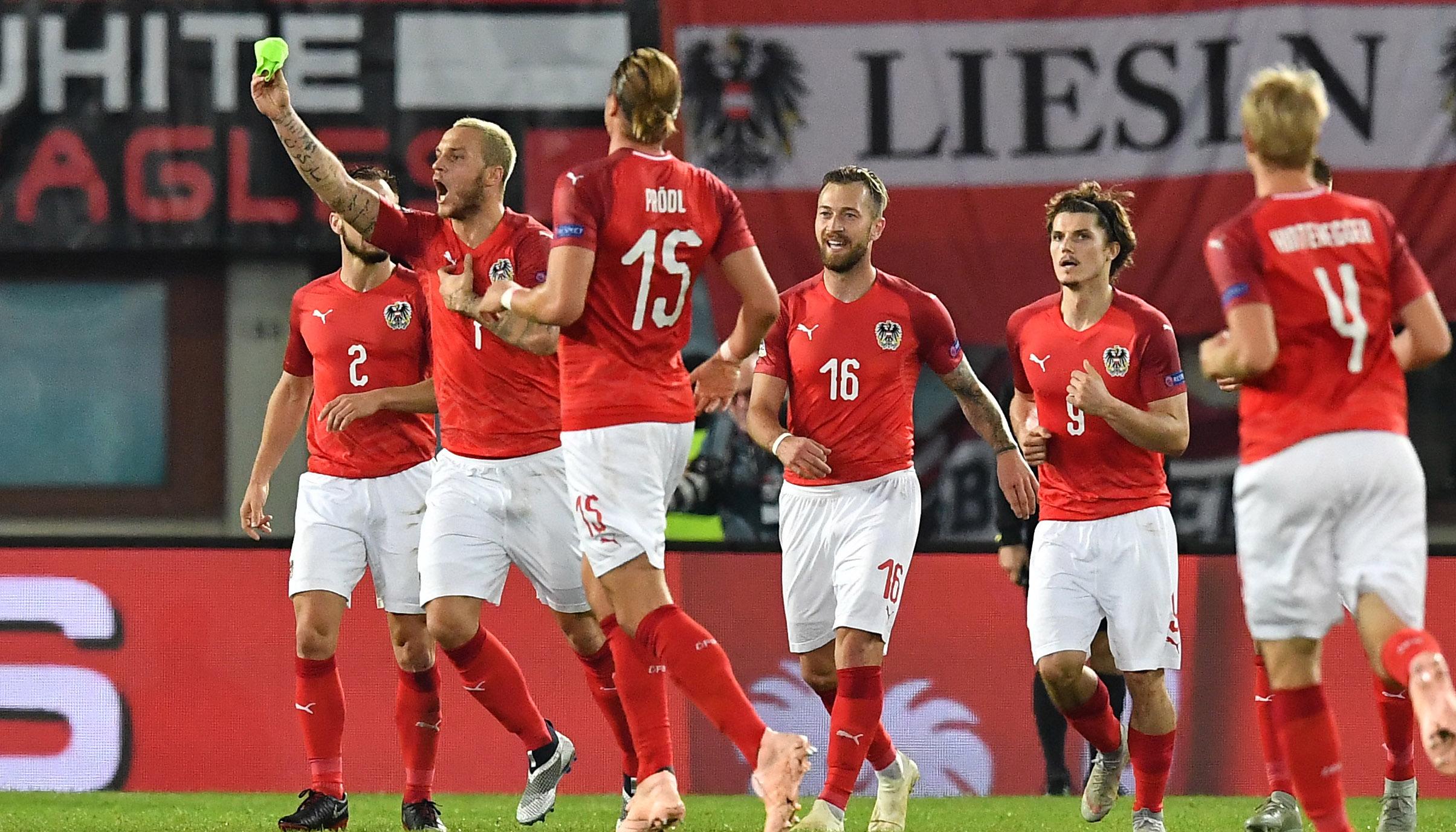 Österreich – Polen: Aufgalopp der Konkurrenten