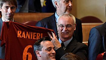 AS Rom: Mit Ranieri zurück zum Erfolg
